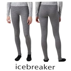 ICEBREAKER Merino Wool Bodyfit 200 Oasis Legging Base Layer Thermal Underwear